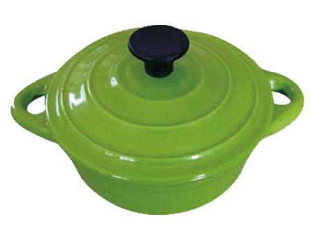 Enamel cast Iron casserole cookware