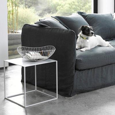 European Simply Design Square Metal Coffee Cafe Tea Tray Table Home Decor Table