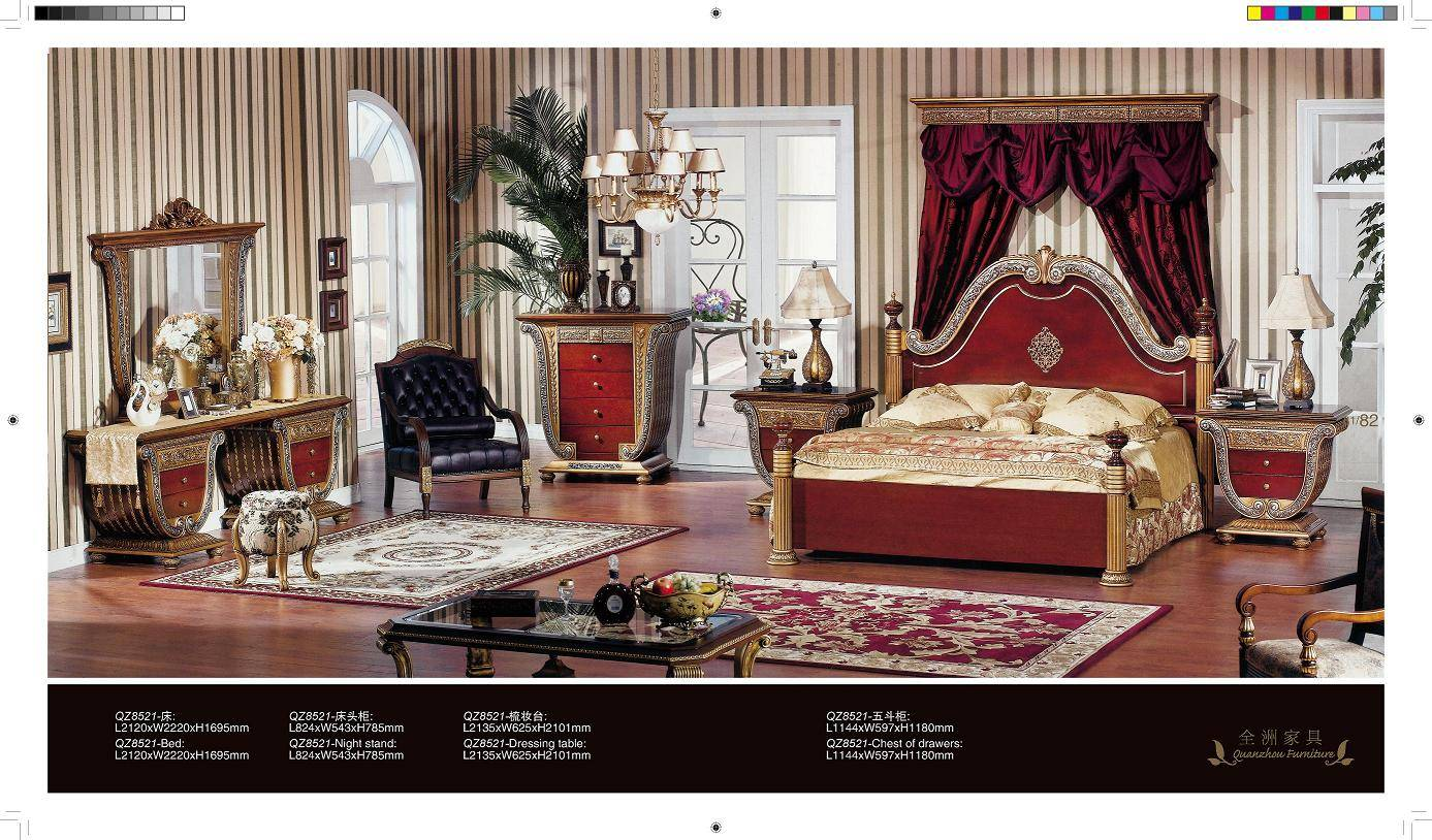 European Style Bedroom Furniture - Foshan Shunde Excellence Years ...