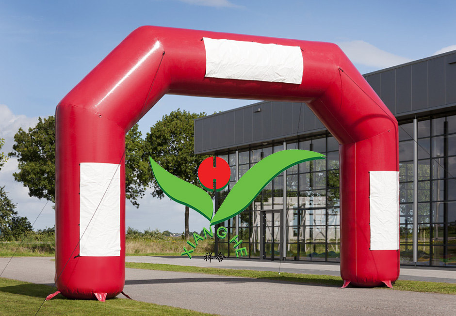 Red Commercial Inflatable Arch For Promotional Event
