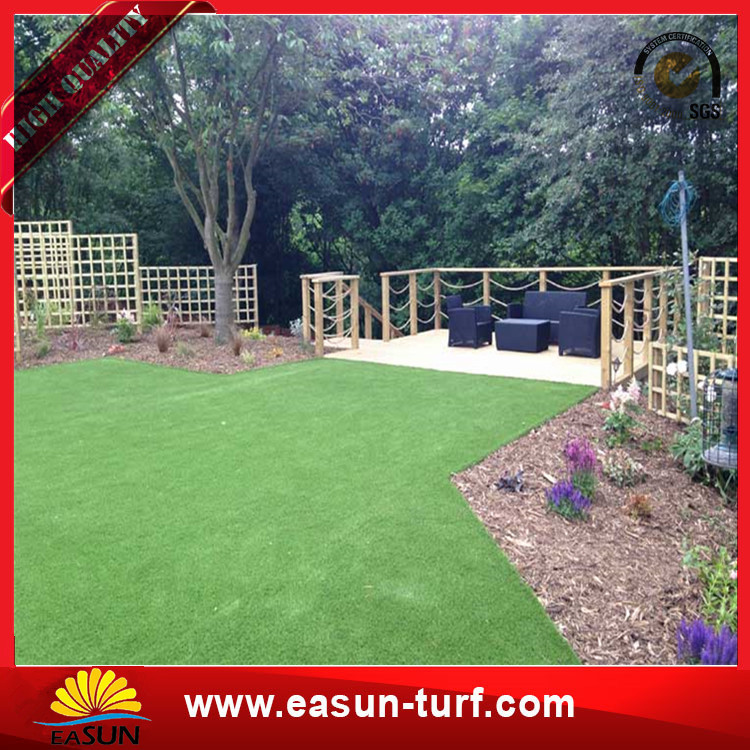 Natural looking high density soft 4 colors artificial grass for garden landscaping-Donut