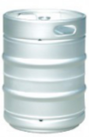 Europe standard 20-50L stainless steel beer keg with A,S,G,D type connector .