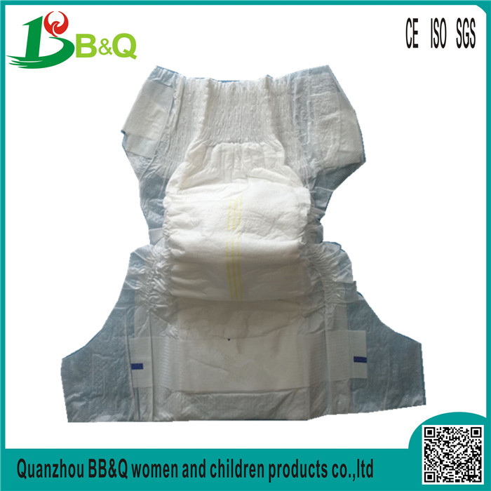 Wholesale High Quality Super Soft Cotton White Baby Diapers