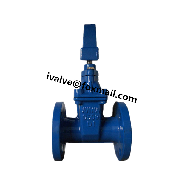 Cast Iron AWWA C509 C515 Gate Valve