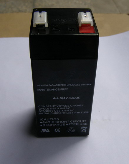 VRLA sealed lead acid battery 4v4.5ah