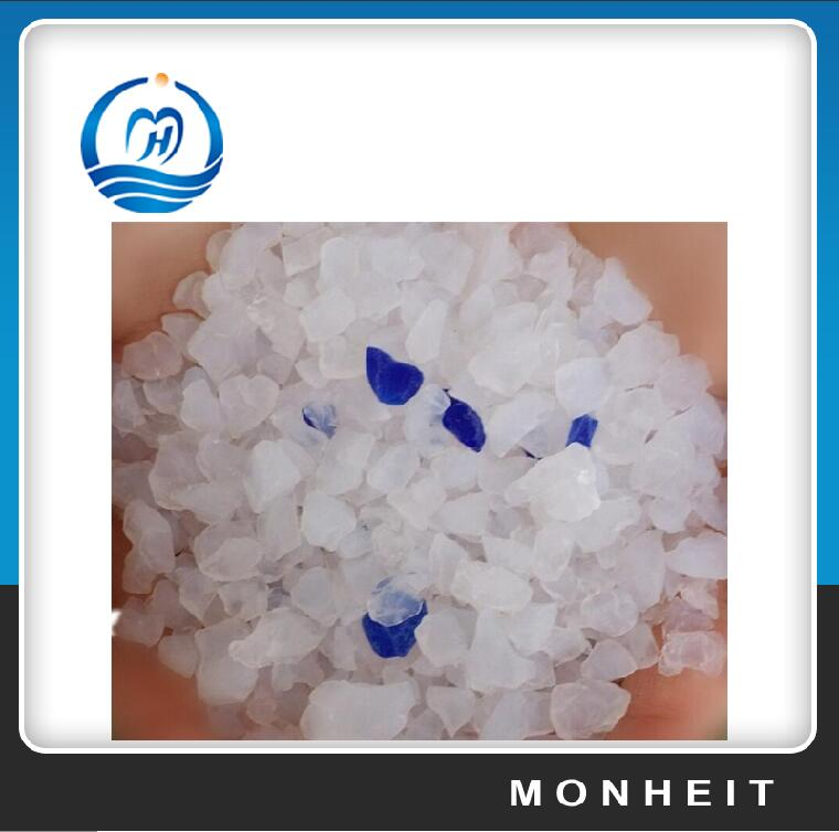 Wholesale Low Price Blue Silica Gel Cat Litter