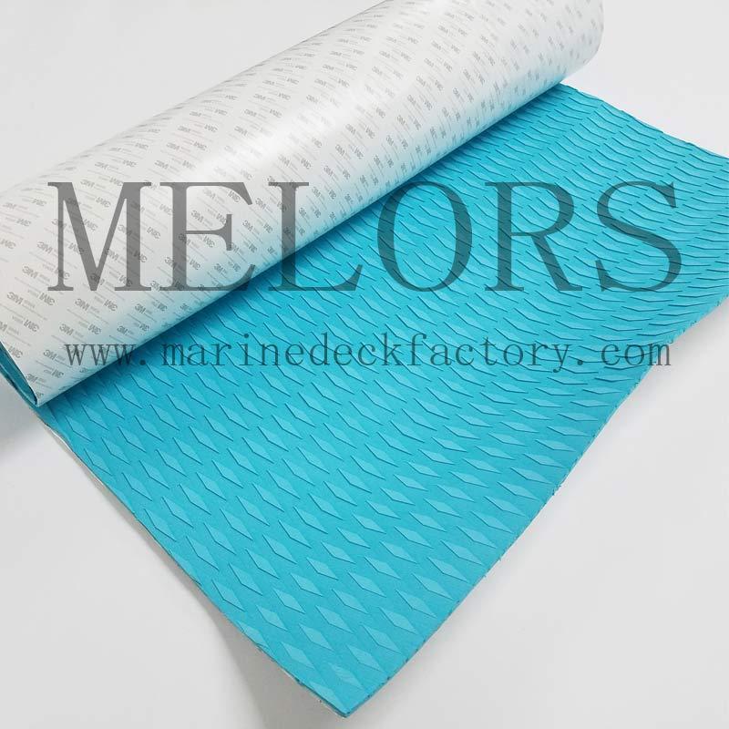 Melors Color Customized EVA Foam Non-odor Deck Pad For Kiteboard