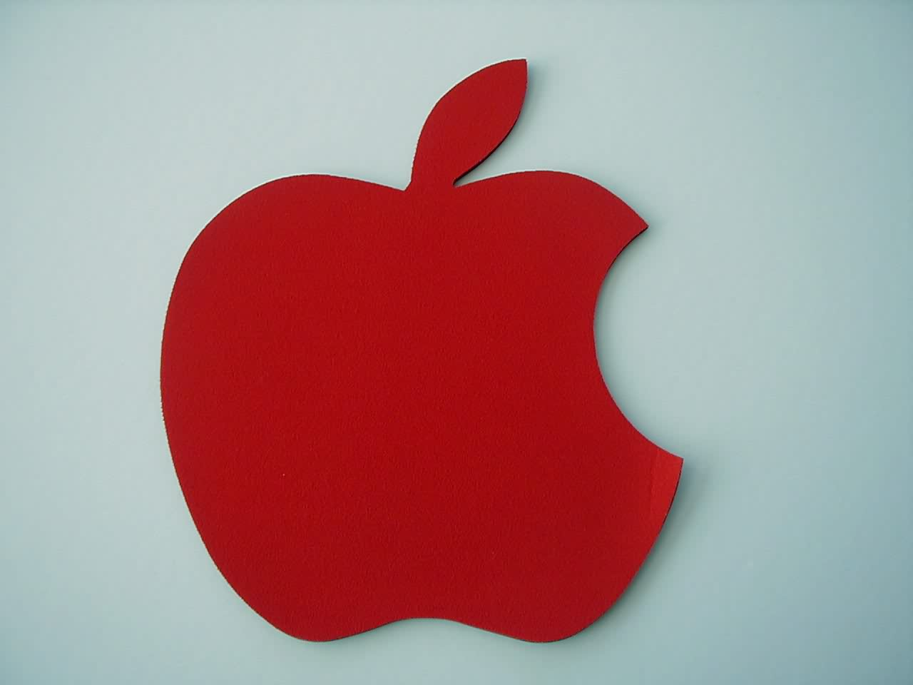 Apple Shape Rubber Mouse Pad Guangzhou Supergo Plastics