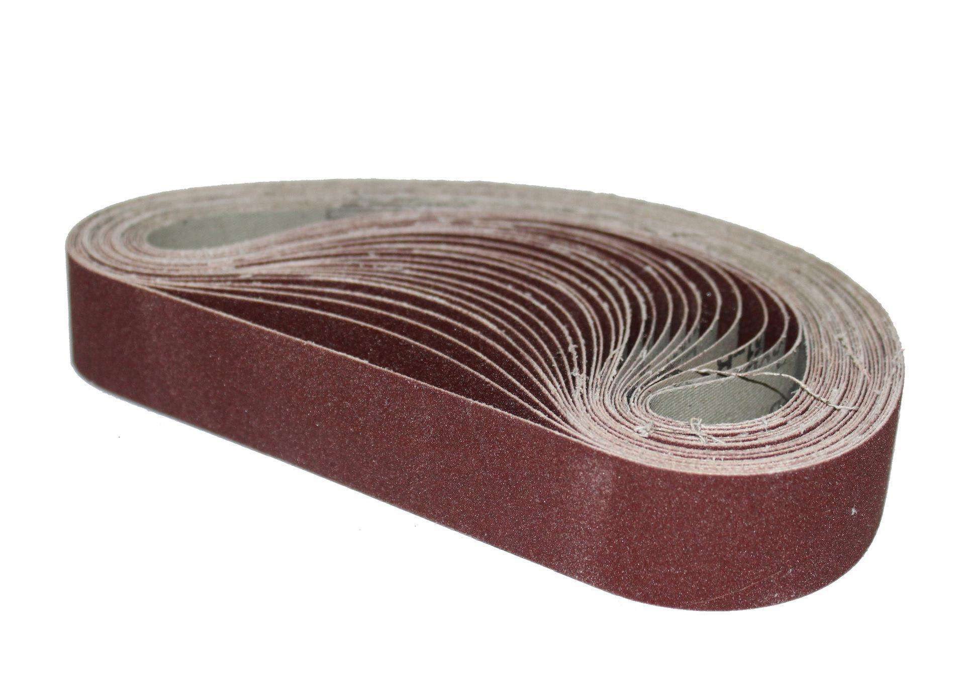 high quality abrasive sanding belt for stainless steel and furniture wood