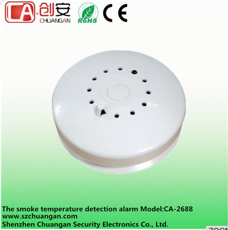 315/433 MHz wireless smoke detectors