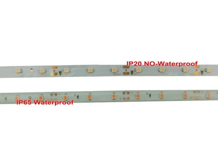 Pink Color 3528LED Strip DC12V 60 leds/m Waterproof and No Waterproof