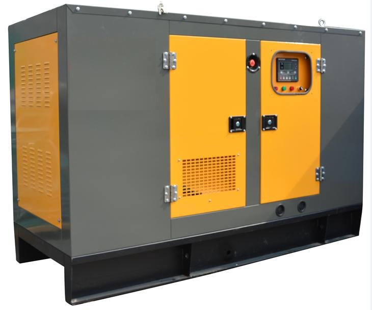 50kva silent diesel generator, three phase, powered by cummins engine