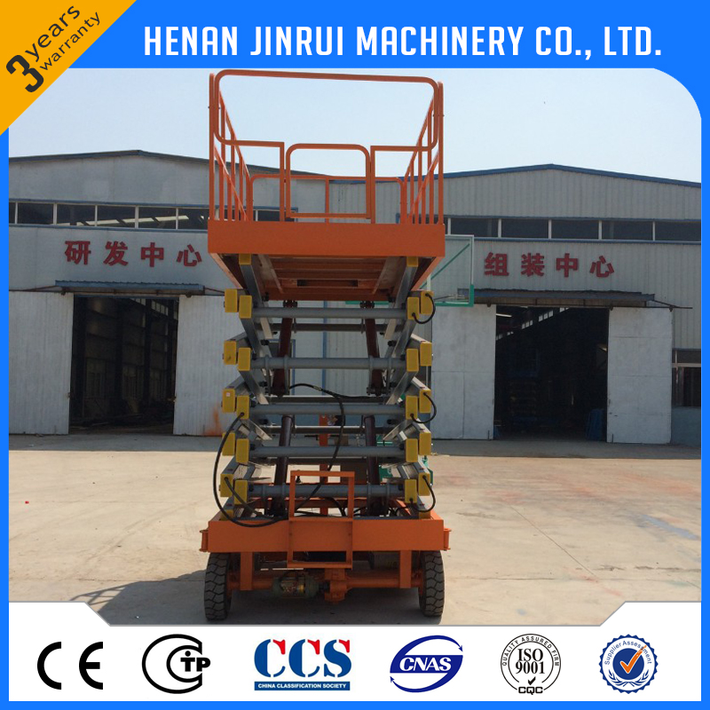 300kg-10m electrical hydraulic lift table for maintain price