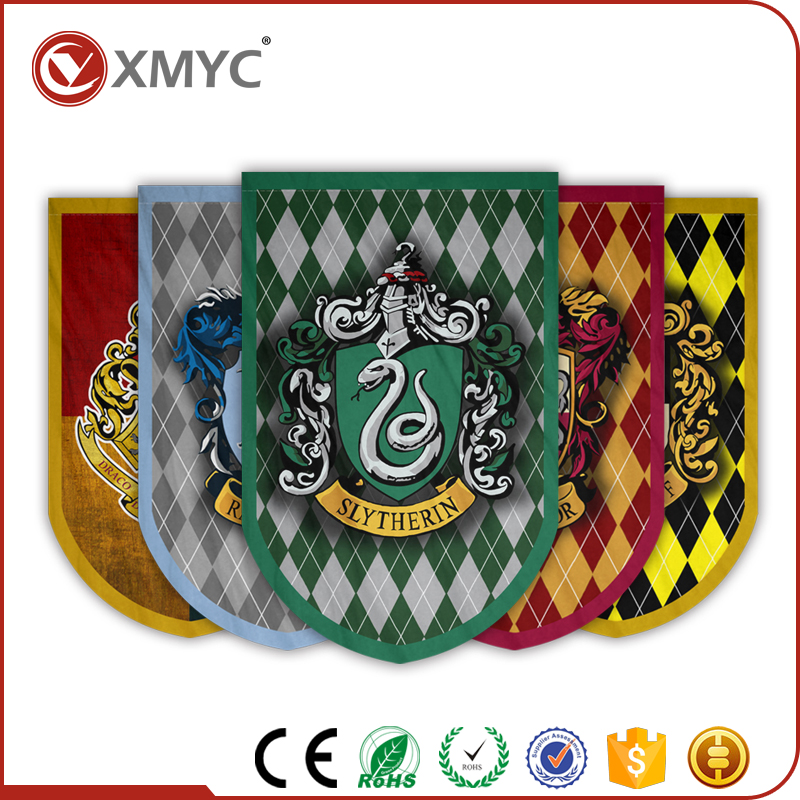Promotional Advertising Exhibition Indoor Flag Hanging Advertising Flag