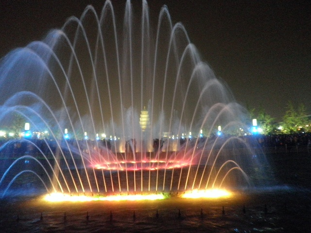 water music fountain