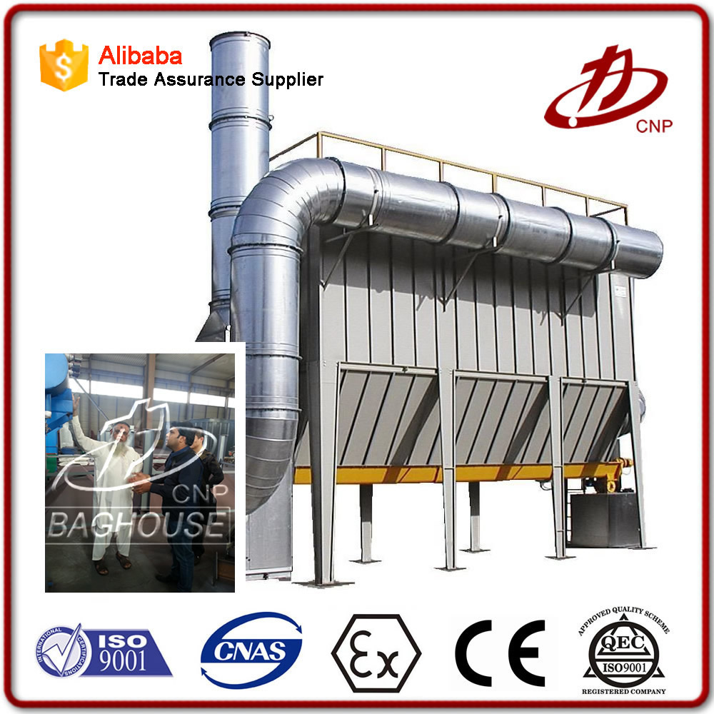 Industrial explosion-proof bag filter