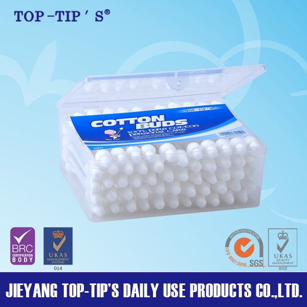 Disposable Baby 55ct Cotton Swabs/Cotton Buds