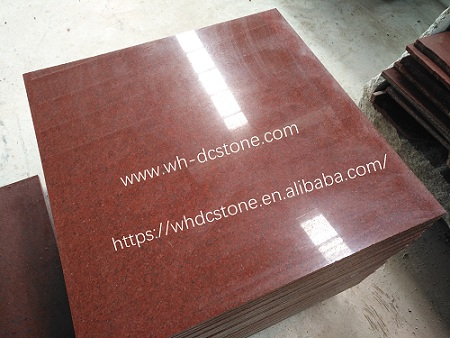 Dyed Red Granite for Tiles