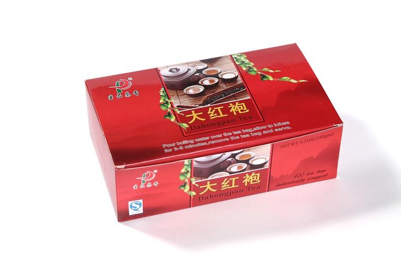 DaHongPao Oolong tea bag(100 Tea bags/box)