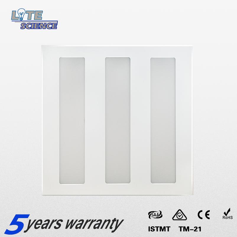 Led Troffer Light 0.8mm Steel Sheet Good Heat Dissipation 5 Years Warranty