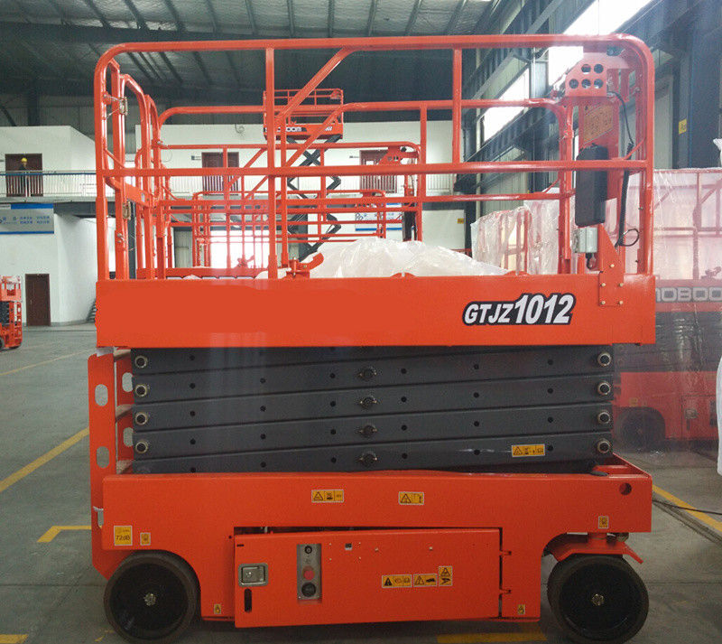 Scissor Lift Man Lift with 10m Platform Height 320kg Load Capacity