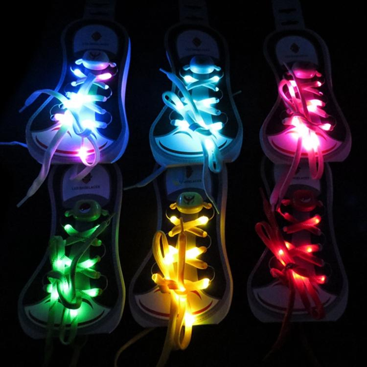 LED Shoelaces Decorative Shoelace for Dancing Party Charming Shining Shoelaces