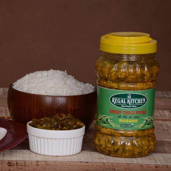 Green Chilli Pickle - Rozana