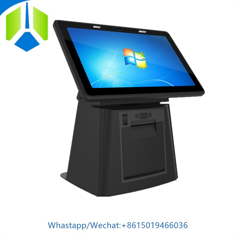 New arrival POS system with 58mm printer 11.6 inch touch screen POS machine with RJ11 port