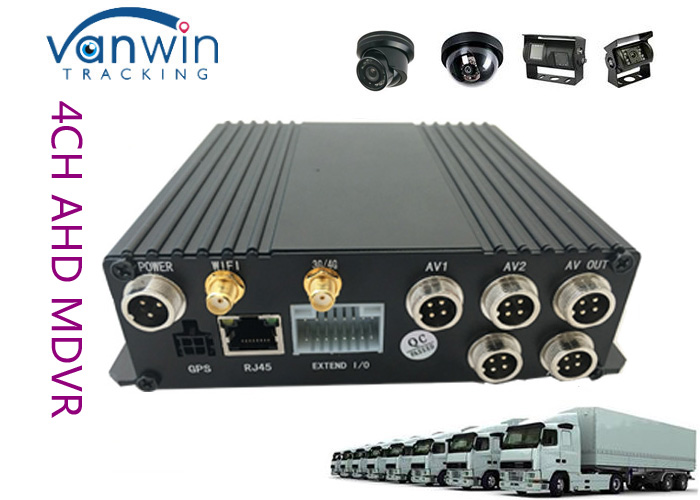 MDVR mini size SD Card 4CH 3G 4G WIFI G-Sensor GPS 720P Mobile Video Recorder