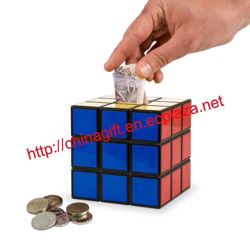 Rubiks Cube Saving Bank