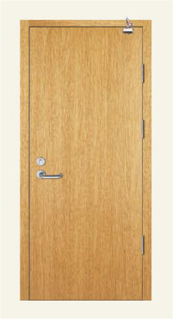 Wooden insulated fire-proof door. I FXFHM04