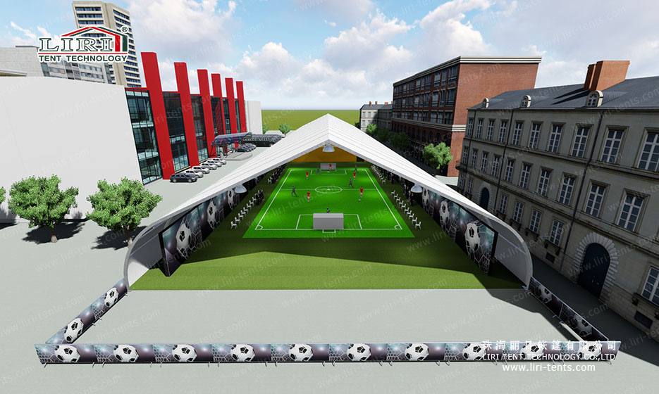 Clear Span Sport Event Tent Used as Sport Center