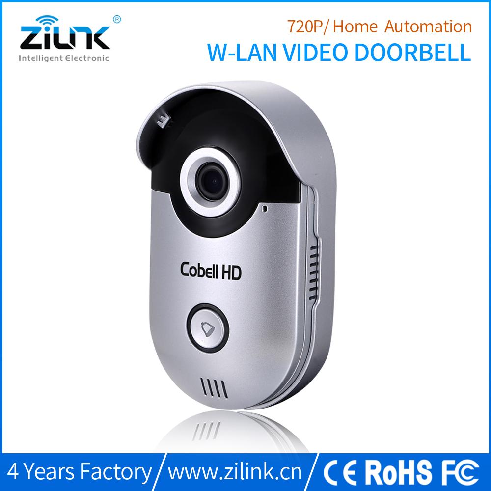 ZILINK Wifi Wireless HD Smart Home Security IP Video Doorbell Camera