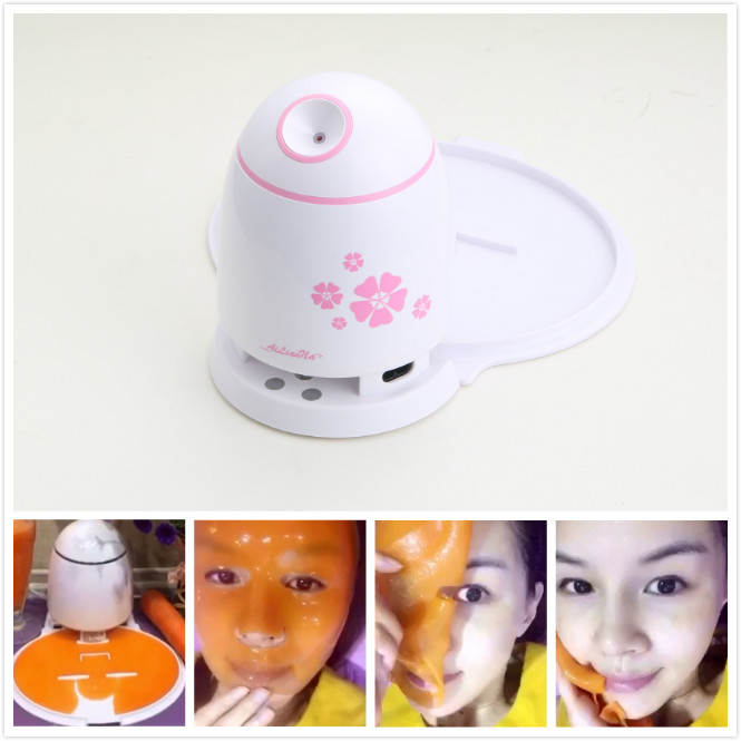 Househeld beauty equipment diy facial mask whitening face machine with OEM