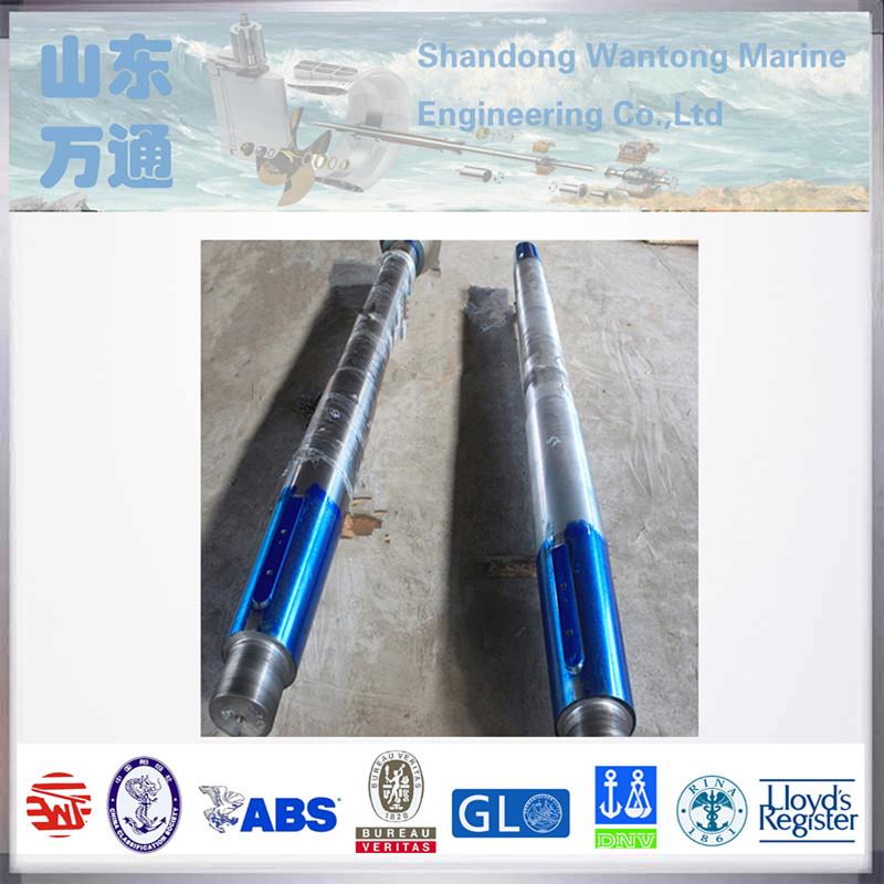 forged ship flexible propeller transmission stern shaft