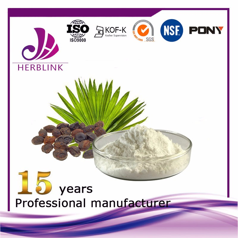 Saw palmetto extract Total Fatty Acids 90%,45%,25%,10:1,20:1