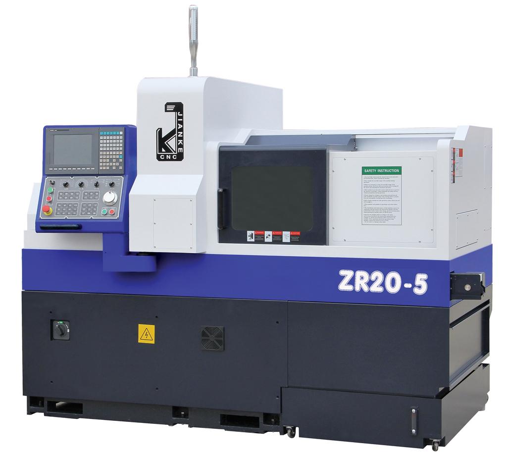 5 Axes Swiss CNC Precision Automatic Lathe ZR205