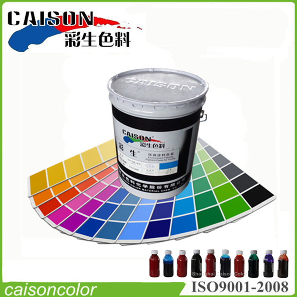 Difference between paint and pigment paste
