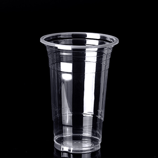 500F 16oz 500ml Transparent Plastic PP Disposable Cup With Logo