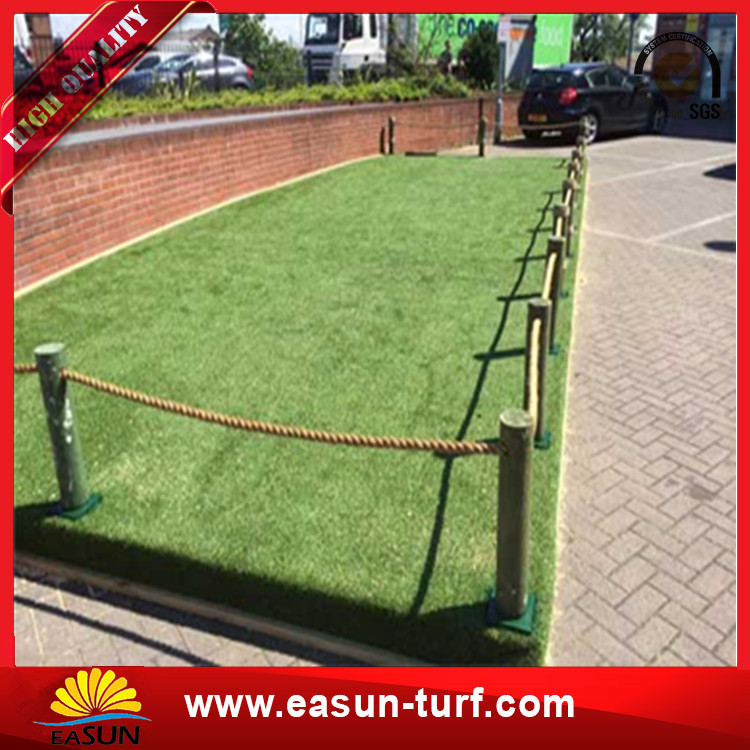 Best artificial synthetic green turf carpet lawn grass to roof garden-Donut