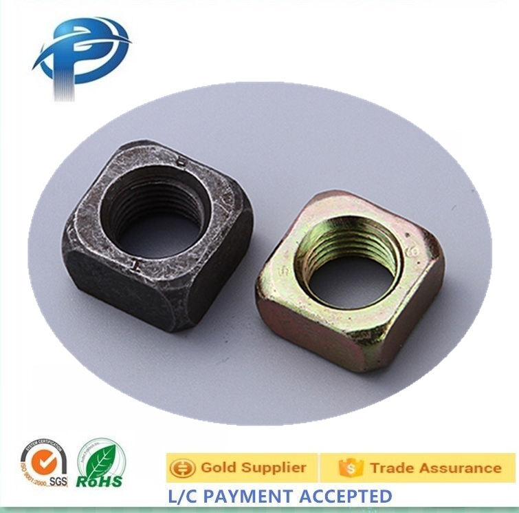 carbon steel M8-M20 High Quality Special High Tensile Square Nut