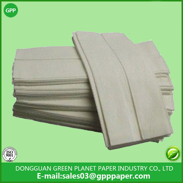 White Virgin soft C fold paper towels