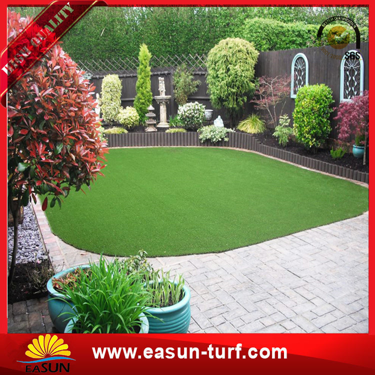 Price for anti-aged synthetic turf pet artificiallawn grass-Donut
