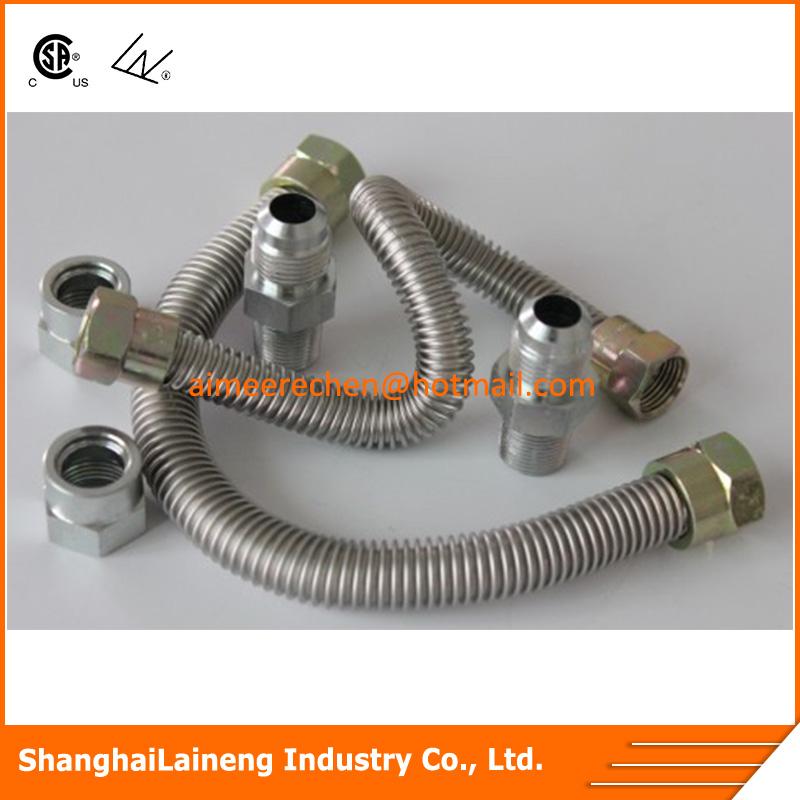 corrugated flexible gas pipe