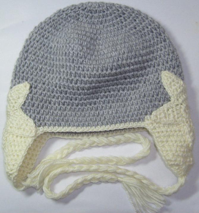 hand crochet star beanie