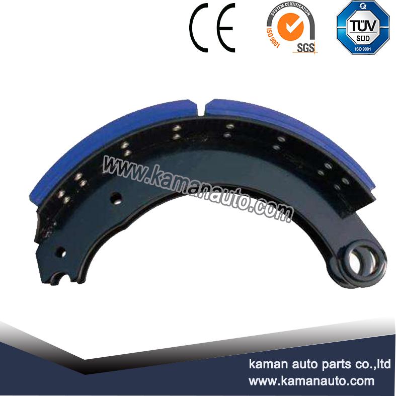 4709 1011933 819707 Mack truck parts wear resistant heavy duty truck brake shoes