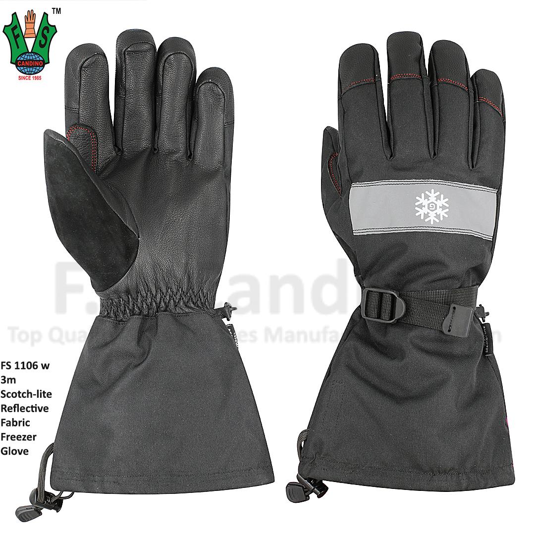 3m Scotch lite Reflective Freezer Winter Gloves