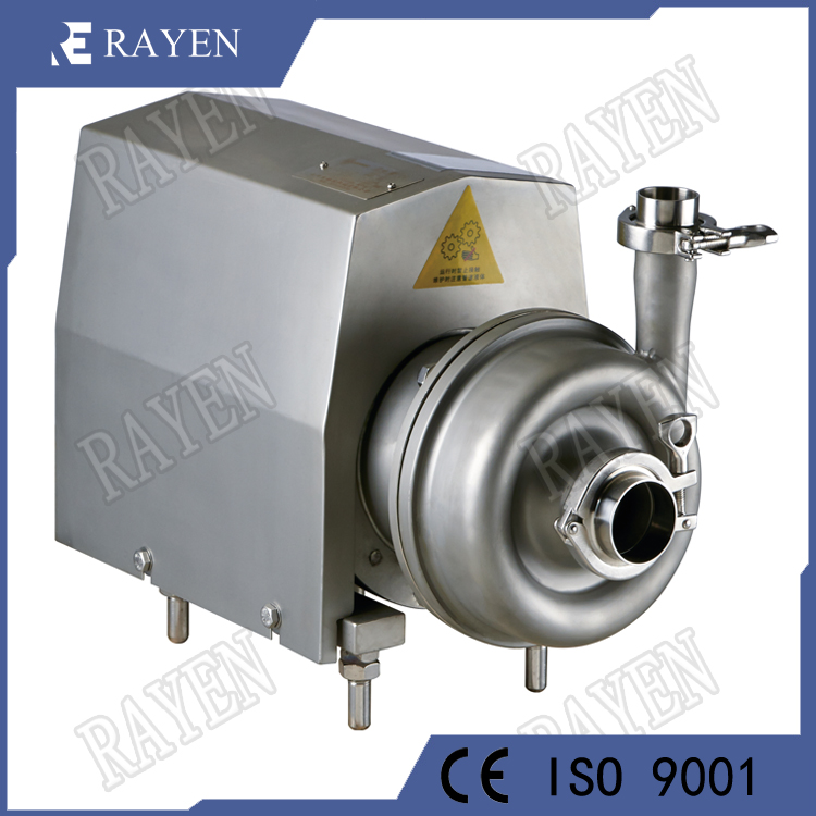 stainless steel water milk dairy centrifugal pump