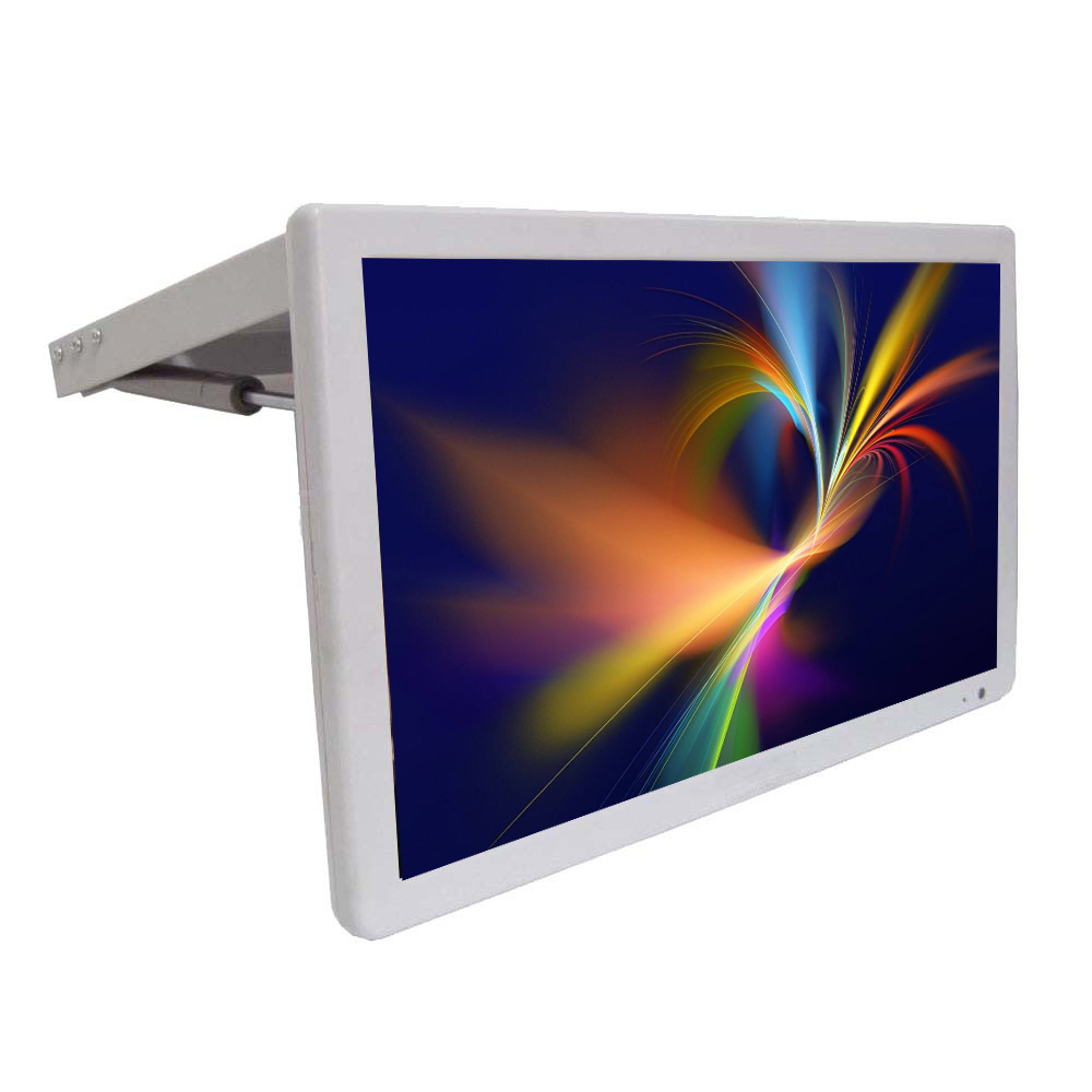 19 Inch Bus Flip Down Advertising Digital Player Lcd Bus TV Monitor