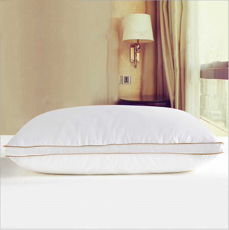 2'' Wall Around with Double Stitched with Self-piping Cushion,2'' Baffle Box White Pillow